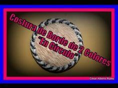 """Costura de Borde de 2 colores """"Cierre Circular"""" """"El Rincón del Soguero"""""""