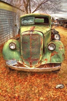 Green Farm Truck | Flickr - Photo Sharing!