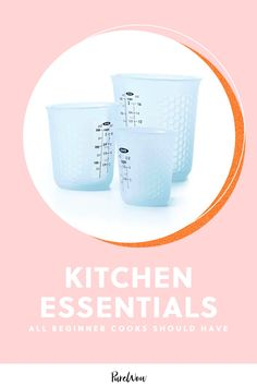 From cutting boards to mixing bowls, here are the nine kitchen essentials we think all beginner cooks should have. #kitchen #beginner #essentials Kitchen Items, Kitchen Dining, Kitchen Decor, Dining Rooms, Wood Router, Wood Lathe, Cnc Router, Vintage Tools, Vintage Farm