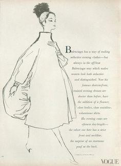 1956 Balenciaga's Sack Dress