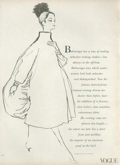 1956 Balenciaga's Sack Dress