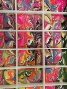 12 color swirl by CLA Designs Soap Images, Color Swirl, Painting, Design, Art, Art Background, Painting Art, Kunst