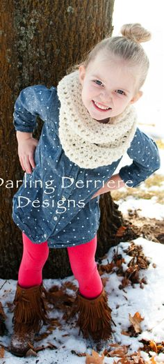 Double Wrap Infinity Scarf Crochet Pattern Maybe for my friends daughters since I have boys!