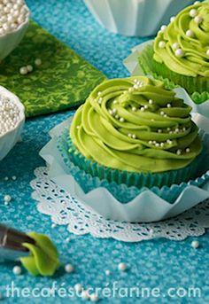 California Avocado Cupcakes