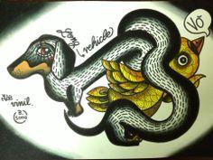 dachshund tattoo idea by Yle Vinil https://www.facebook.com/photo.php?fbid=515015415227993&set=t.100001586172763&type=1&theater