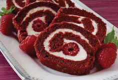 Give me red...Red Velvet Cake Roll - Good Cooking-Recipes