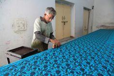 Indian blockprinting via bigBANG studio: Jaipur, India