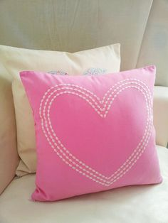 HOME heart pillow throw /cushion cover / decorative pillows / decor gift / homeware. on Etsy, $39.81 CAD