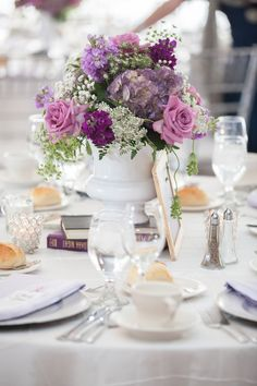 Purple and Gray Wedding http://www.clickingthroughlife.com/
