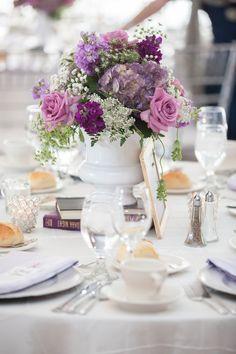 Purple and Gray Wedding http://www.clickingthroughlife.com/