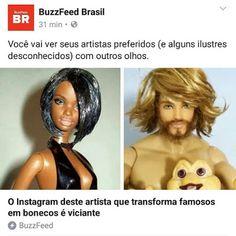 BONECOS DO BABY: Marcus Baby e bonecos no BuzzFeed Brasil