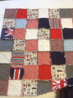 Snugly rangy quilt for my grandson in Australia