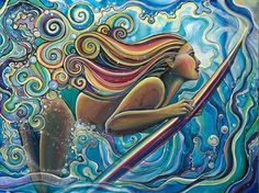 Beneath the Wave by Colleen Wilcox