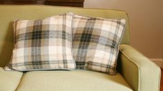 ralph lauren tartan pillows