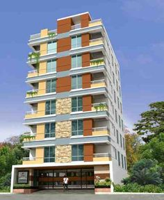 Quantum Niloy Garden at South Banosree – 873 sft, 3 Bed, 2 Bath. (Dhaka, Bangladesh). Apartments for rent