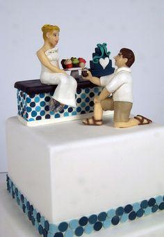 cupcake shop wedding cake toronto by www.fortheloveofcake.ca, via Flickr