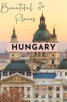 Best Hungary Travel bucket lists places to visit | Hungary Budapest Eger Szeged Drebecen Lake Balaton | Visit Hungary beautiful places nature to Hungary cities to explore this year | Hungary things to do in the country European Travel Tips, European Vacation, European Destination, Top Europe Destinations, Europe Travel Guide, Hungary Travel, Travel Inspiration, Travel Ideas, Travel Couple
