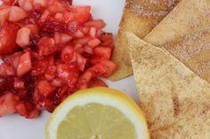 Loca's Diary: Frucht Salsa mit Zimt-Tortilla
