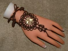 Brown Birdy Ring Bracelets or Barefoot by gilmoreproducts33, $14.00