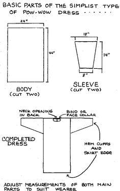 Powwow dress