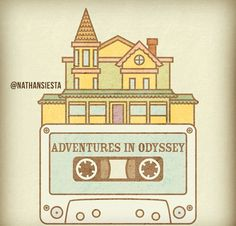 Adventures in Odyssey Fan Art by Nathan Shigeta