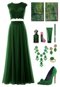 """""""Two Piece Dress"""" by fashionmadness13 on Polyvore featuring Forzieri, Natasha Accessories, Clive Christian, Lipstick Queen, Neville and jane"""