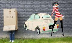 #Fiat #500 Graffiti