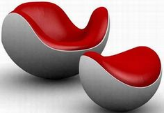 designer rocking chairs | Modern Rocking Chair Placentro By Batti
