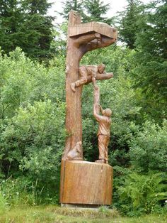 40 Amazing Tree carving Examples for Inspiration