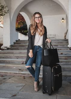 4 Easy Steps for Comfortable Travel Style | The Teacher Diva: a Dallas Fashion Blog featuring Beauty & Lifestyle
