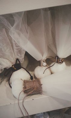 Tulle wedding favors S Dimiourgin