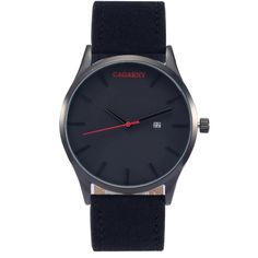 Luxury brand man fashion big watch dial scrub leather calendar business wristwatch for women Contracted watches waterproof watch Fossil Watches For Men, Vintage Watches For Men, Men's Watches, Mens Dress Watches, Mens Watches Leather, Mens Skeleton Watch, Brown Leather Strap Watch, Automatic Watches For Men, Waterproof Watch
