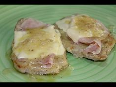 Scaloppine alla Valdostana (ricetta speciale) - YouTube