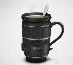 My love of unique coffee mugs AND photography?!  Um, hell freakin' yesss!!!!
