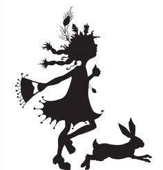 Lyn Stone children's illustrator, London - Silhouette people