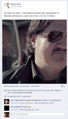 anche su facebook...