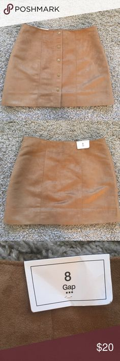 Gap skirt new with tags Brand new Gap skirt with tags size 8. GAP Skirts Mini