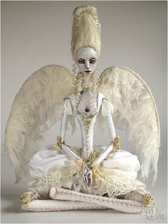 Angel doll by Tireless Artist