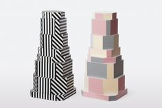 esigner: Oeuffice Object: Ziggurat Containers limited edition of 12 + 2 P