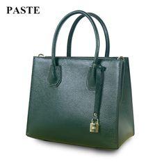 49.50$  Buy here - http://alihhp.shopchina.info/go.php?t=32776917606 - New Brand Design European Fashion Style Top-handle Women Bag Handbags/Spring&Summer Genuine Cow Leather Shoulder Messenger Bags 49.50$ #buyonline
