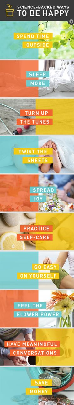 25 Science-Backed Ways to Feel Happier #health #wellness #happy