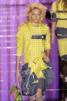 John Galliano at Paris Fashion Week Spring 2005 - StyleBistro