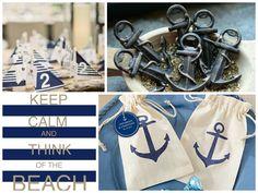 Nautical Anchor Theme Wedding #favors