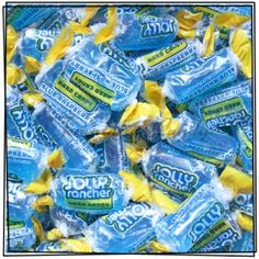 Blue Jolly Ranchers in bulk. Best website ever!!!