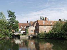 Flatford Mill, Dedham Vale, Suffolk, England