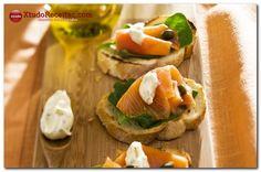 Bruschetta de salmão defumado | Xtudo Receitas
