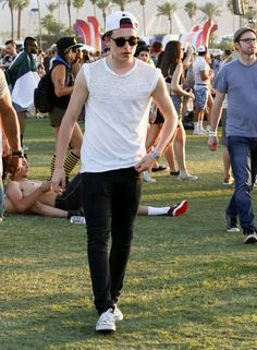Brooklyn Beckham at the Coachella Valley Music and Arts Festival - Day 2