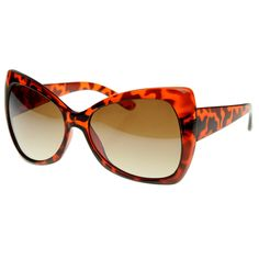 Designer Inspired Unique Butterfly Shape Fab Fashion Sunglasses