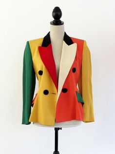 awesome colors, great price Vintage 80s Moschino
