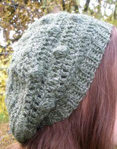 The Art of Zen Crochet--Chriss Smith--Bobble Tam (Crochet); pattern $4